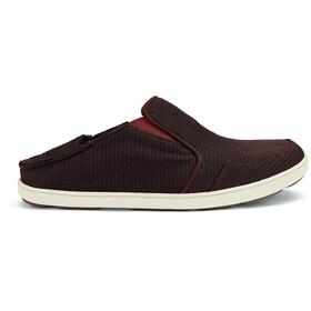 OluKai M's Nohea Mesh Shoes Dark Java/Rojo